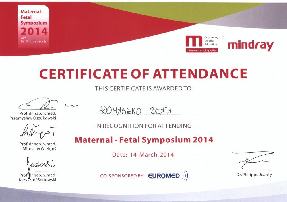 Maternal – Fetal Symposium