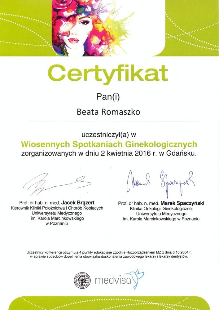 Konferencja ginekologiczna w Gdańsku.